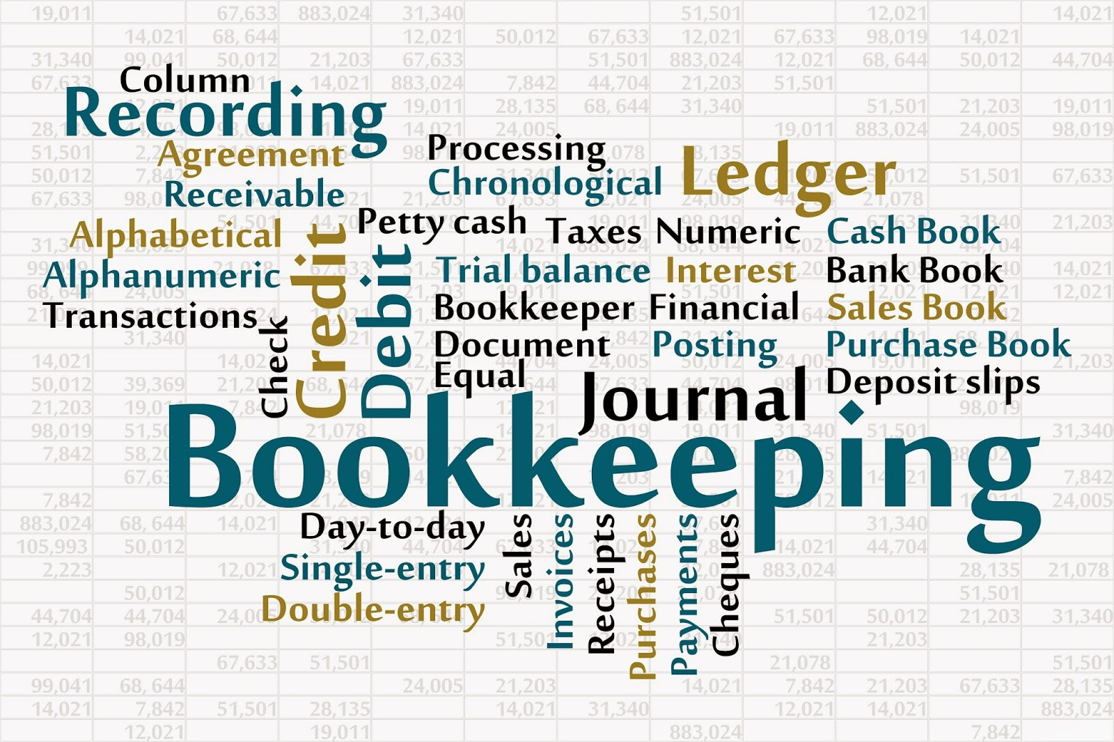 Journal entry, receivable and ledger tracking